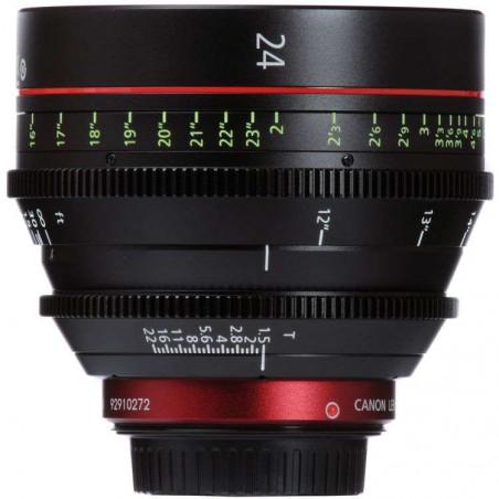 CN-E24MM T1.5 LF (F) Canon Ottica Fissa (Scala delle distane in piedi)