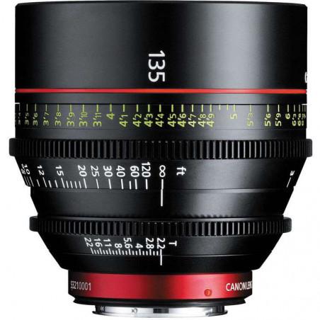 CN-E135MM T2.2 LF (M) Canon Ottica (Scala delle distanze in METRI)