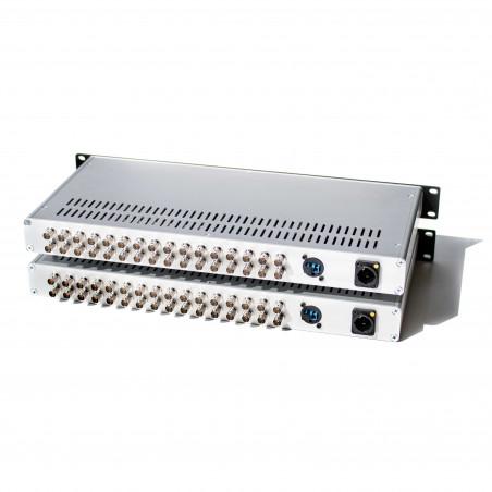 Mux/Demux Three 3G, 16 channel CWDM box FieldCast