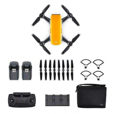 Spark Fly More Combo DJI mini drone - colore Sunrise Yellow