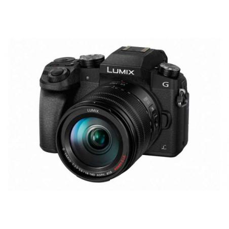 DMC-G7KEG Panasonic LUMIX Fotocamera 4K + Ottica LUMIX 14-140 mm
