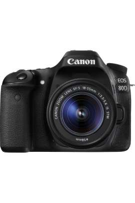 EOS 80D + EF-S 18-55 IS STM Canon Fotocamera Reflex 24,2 MP Full HD con obiettivo 18-55mm
