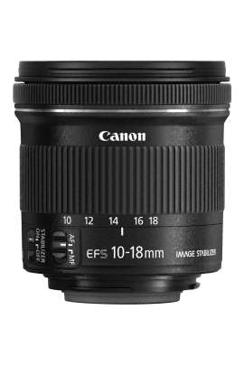 EF-S 10-18 mm f/4.5-5.6 IS STM Canon Obiettivo grandangolo zoom 10-18mm