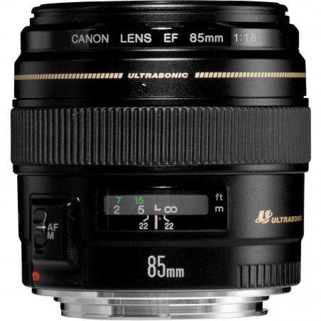 EF 85mm f/1.8 USM Canon teleobiettivo medio 85mm
