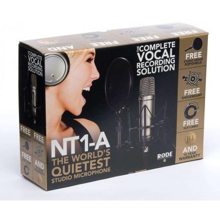 NT1-ACBundle Rode Kit Microfono NT1-A Cardioide + SM6 Supporto elastico