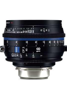 CP3XD-18 mm T2.9 Zeiss obiettivo Compact Prime Extended Data