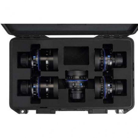 CP3 kit Zeiss di 3 obiettivi Compact Prime + hard case