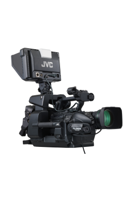 "GY-HM890RE Videocamera JVC 3 sensori CMOS Full HD da 1/3"" FHD ENG spalla/ da studio - Live Streaming"