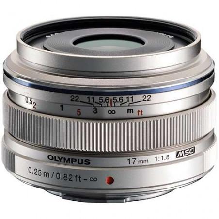 17 mm 1:1.8 OLYMPUS M.ZUIKO Digital obiettivo Micro 4/3 Premium Silver