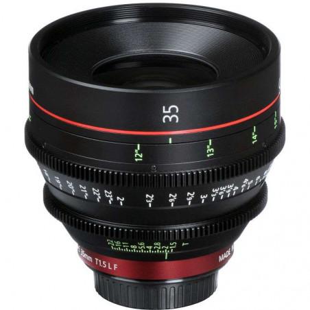 CN-E35MM T1.5 LF (M) Canon Ottica Fissa (Scala delle distanze in metri)