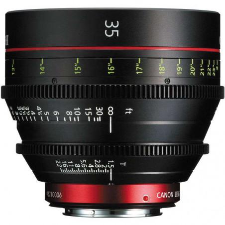 CN-E35MM T1.5 LF (M) Canon Ottica Fissa (Scala delle distane in metri)