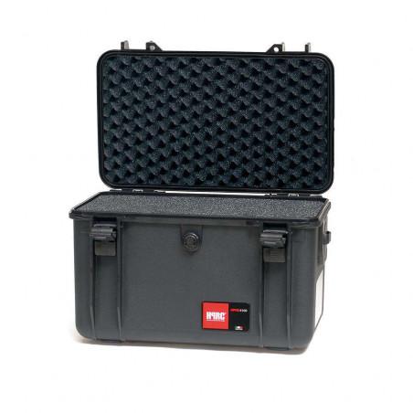 Hard Case HPRC 4100 CUBBLK in resina per cinecamera e DSLR con Foam