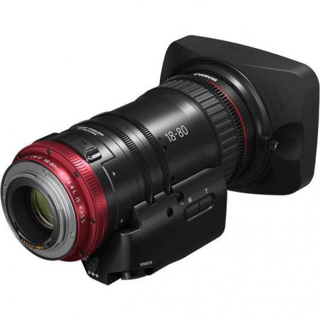 Set EOS C200 Canon videocamera 4K a 50P e/o Full HD a 120P + obiettivo Canon CN-E18-80 mm