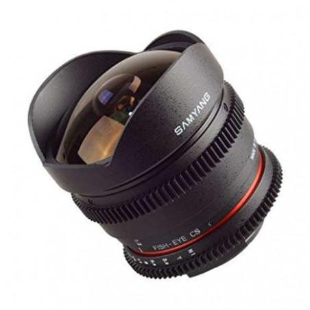 SY81VM Samyang obiettivo 8mm T3.1 Fish Eye CS II CANON