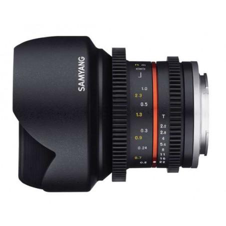 SY12VM Samyang obiettivo 12mm T2.2 CANON M