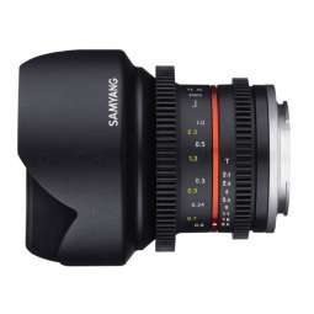 SY12VE Samyang obiettivo 12mm T2.2 SONY E