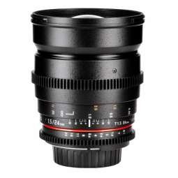 SY24VC Samyang obiettivo 24 mm T 1.5 ED AS IF UMC II - Canon