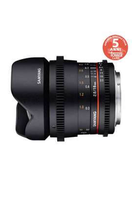 SY16VE SAMYANG OBIETTIVO 16MM T/2,2 VDSLR ED AS UMC SONY E