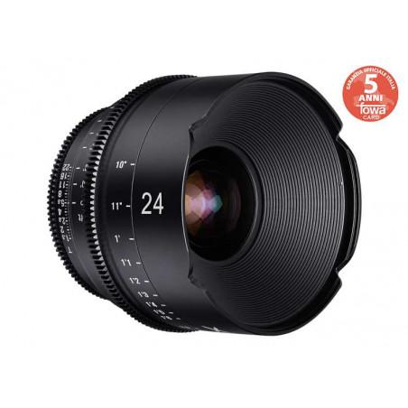 SYX24C Samyang XEEN Obiettivo 24mm T1.5 FF Cine Canon