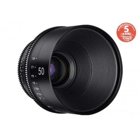 SYX50C Samyang XEEN Obiettivo 50mm T1.5 FF Cine Canon