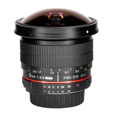 SY83OL Obiettivo Samyang 8mm F3,5 UMC Olympus 4/3