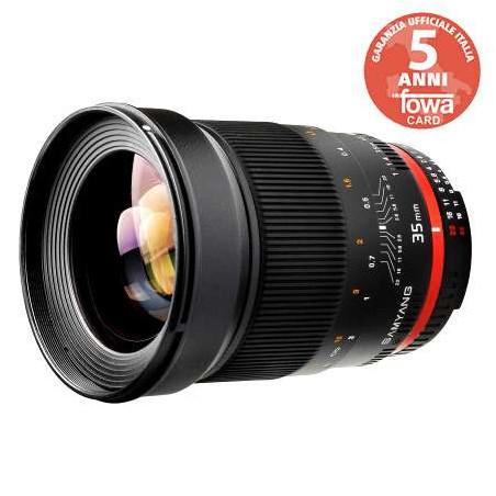 SY35NI Samyang obiettivo 35mm F1,4 AS UMC Nikon F