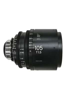 Sigma Obiettivo Cinema High speed Prime FF 105 mm T1.5 Canon EF