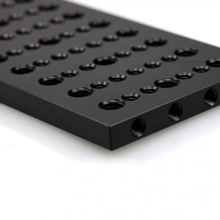 Piastra di montaggio multiuso SmallRig con doppio clamp per aste 15mm