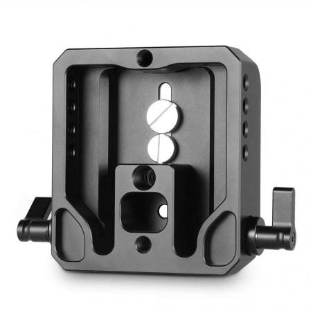 1740 SmallRig piastra con aggancio per aste per Canon EOS e Sony FS7