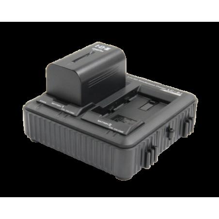 IDX-JP2-E JVC Kit :1 caricabatterie LC-2J IDX e 2 batterie SSL-JVC75