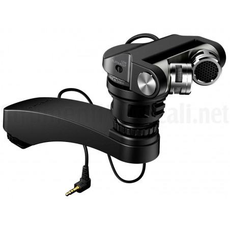 TM-2X Tascam microfono a condensatore stereo per fotocamere DSLR