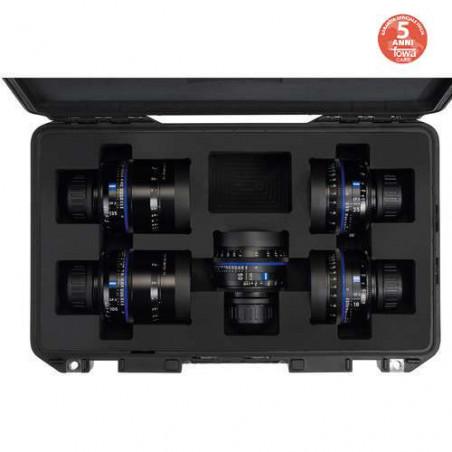 CP3XD kit Zeiss di 7 obiettivi Compact Prime + hard case