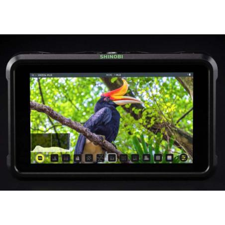 "Shinobi Atomos monitor 5"", 4K, HDR, HDMI"