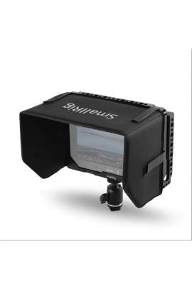 """1988 SmallRig 7""""Monitor Cage with Sunshade for Blackmagic Video Assist 4K"""