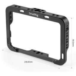 2249 Smallrig Formfitting Cage with Sun Hood for SmallHD FOCUS