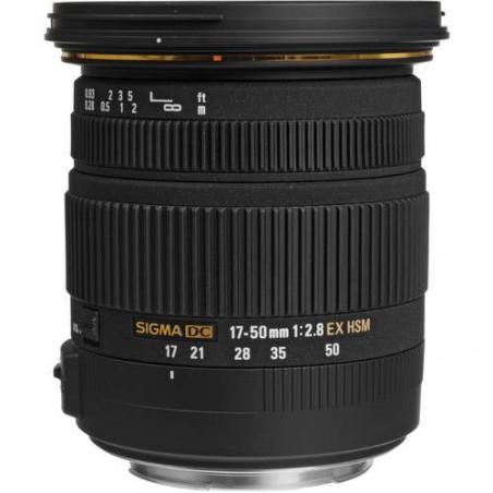 S17-50EF Sigma Obiettivo Zoom 17-50mm f / 2.8 EX DC OS HSM per Canon EF