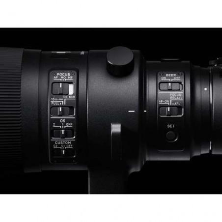 S500EF Sigma Obiettivo 500mm F / 4 DG OS HSM Sport Lens per Canon EF