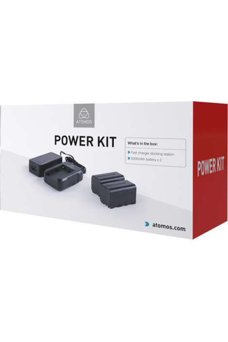 ATOMPWRKT2 ATOMOS Power Kit per Monitor / Recorder