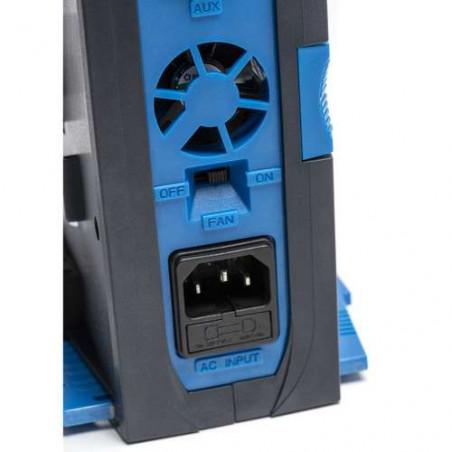 CVTR2P Blueshape Caricabatterie portatile simultaneo a 2 canali per batterie V-Lock