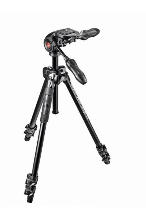 MK290LTA3-3W Kit Manfrotto serie 290 LIGHT con testa 3 vie