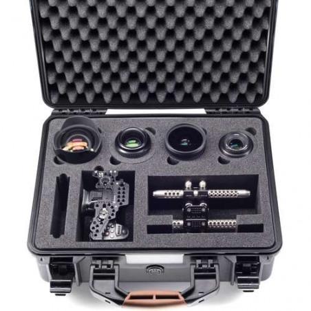 DC-GH5 Panasonic LUMIX fotocamera kit completa di ottica LEICA 12-60 F2.8-4 e valigia in resina HPRC