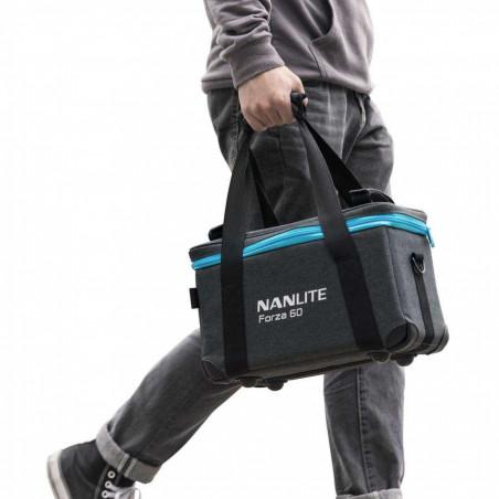 NL-FZ60-K2 Nanlite Kit di 2 Forza 60 Luce Led con Softbox e stativi