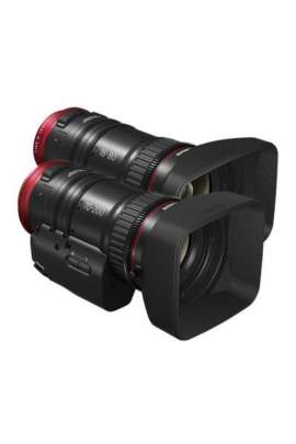 COMPACT SERVO DOUBLE LENS KIT CANON: obiettivi CN-E18-80mm T4.4 L IS KAS S + CN-E70-200mm T4.4 L IS KAS S