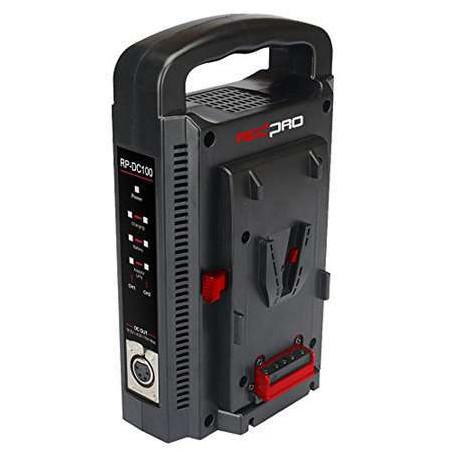 PROBANK-2XL HEDBOX, Kit di alimentazione con 2 batterie Nero L e un caricabatteria RP-DC100