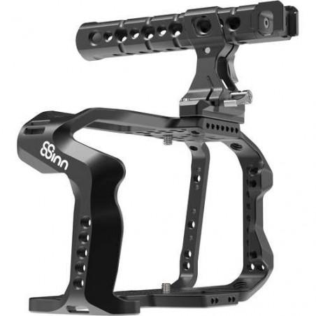 8-BMPCC4K C+THP Cage+Top Handle Pro 8Sinn per Blackmagic Pocket Cinema Camera 4K/6K