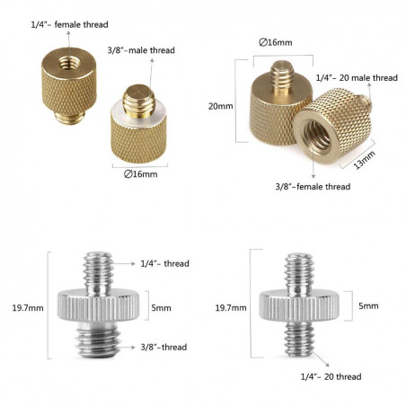 1074 SmallRig Screw Pack (8 pezzi)