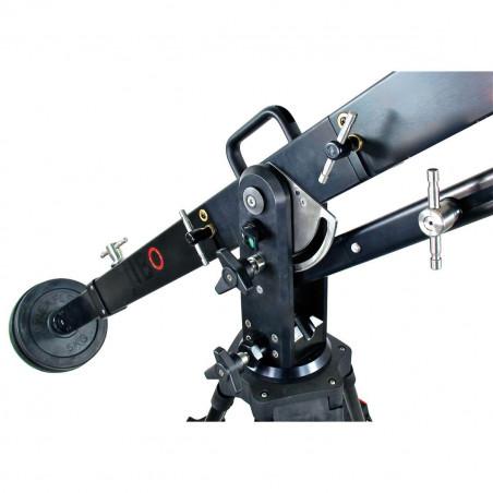 J102 Jibo Cartoni Jib telescopico base 100mm per sistemi DV - ENG