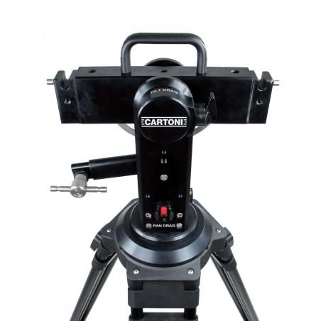J103 Jib Cartoni telescopico base 100mm & controllo fluido per sistemi DV - ENG (senza contrappeso)