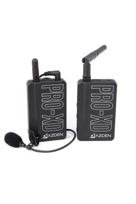 PRO-XD AZDEN Sistema microfonico wireless digitale