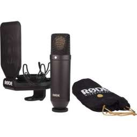 "NT1KIT Bundle microfono RØDE NT1 a capsula da 1"" con RØDE SMR shock mount"